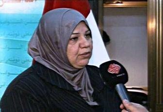 این زن وزیر دفاع عراق میشود + عکس