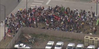 تظاهرات مردم آمریکا علیه سیاستهای مهاجرتی ترامپ