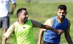 تمرینات تیم قطری با حضور لژیونر ایرانی در اتریش+ عکس