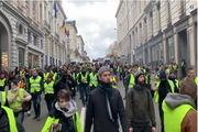 چهاردهمین شنبه سیاه معترضان فرانسوی