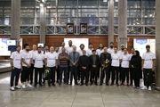 ملی پوشان بسکتبال وارد ایران شدند