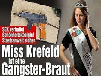 بازداشت ملکه زیبایی به اتهام تروریسم