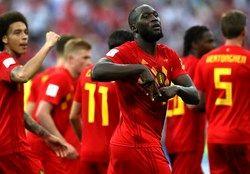 تیم منتخب بلژیک و فرانسه به بهانه رویارویی دو تیم+عکس