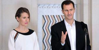 همسر بشار اسد توانست بر سرطان غلبه کند