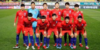 پیروزی سخت کره جنوبی مقابل لبنان در مقدماتی جام جهانی