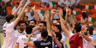 قدردانی هیات دولت از موفقیتهای تیم ملی والیبال ایران