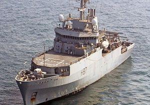 ورود کشتی نظامی انگلیسی به بندر اوکراین برای آغاز رزمایش مشترک
