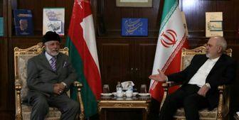 رایزنی وزیر امور خارجه و همتای عمانی در تهران
