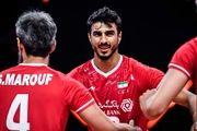 ساعت بازی والیبال ایران- آرژانتین + ترکیب تیم ملی