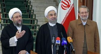 روحانی و لاریجانی چقد حقوق می گیرند؟