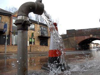 دسترسی ۲۵ هزار لندنی به آب قطع شد