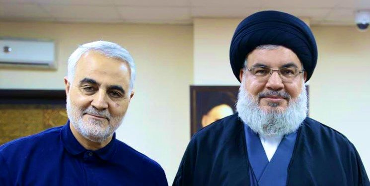 New pictures from the last meeting of Martyr Soleimani with Seyed Hassan Nasrallah
