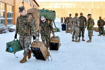 مشارکت آمریکا در رزمایش زمستانه نروژ کاهش یافت