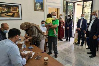 حضور پرشور هموطنان ایرانی مقیم خارج از کشور در پای صندوقهای رای +تصاویر