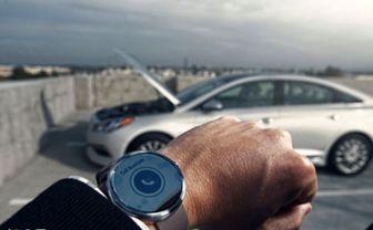 کنترل ماشین با ساعتتان! / عکس