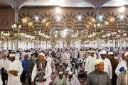 حالوهوای حجاج در مسجد النبی/گزارش تصویری