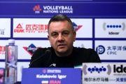 کولاکوویچ:بعد از یک جنگ تمام عیار، والیبال زیبایی را دیدیم