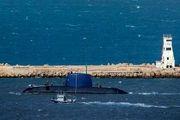 رصد زیردریایی آمریکایی از اعماق خلیج فارس/ تصاویر