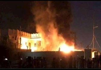 انفجار خط لوله گاز در مصر