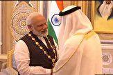اعطای مهمترین مدال افتخار مدنی امارات به نخستوزیر هند