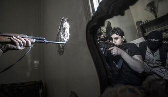 هلاکت تک تیرانداز داعش در بغداد