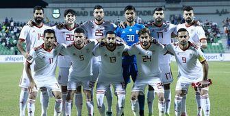 رتبه ایران در رده بندی جدید فیفا