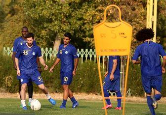 گزارش تمرین استقلال/ غیبت سه بازیکن