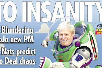 واکنش روزنامههای انگلیس به نخست وزیری جانسون+عکس