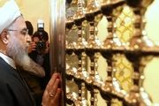 روحانی به مسجد کوفه رفت