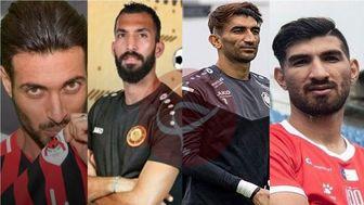فوتبالیستهای جدا شده از لیگ برتر/از شهریار تا شجاع