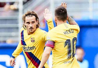 رابطه جالب گریزمان با مسی و سوارس در بارسلونا