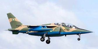 سقوط جنگنده نیروی هوایی نیجریه