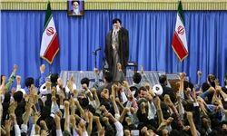 رهبر انقلاب: آمریکا اخلال و خدعه میکند و بعد گلایه میکنند که چرا ما بدبینیم!
