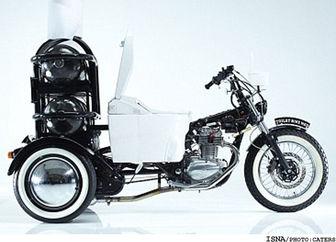 ساخت موتورسیکلت باسوخت ضایعات انسانی