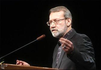 لاریجانی: مصوبه اخیر مجلس نمایندگان آمریکا خلاف برجام است