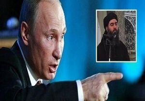 پوتین: بغدادی را زنده می خواهم