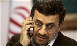 تماس تلفنی احمدی نژاد با نخست وزیر عراق