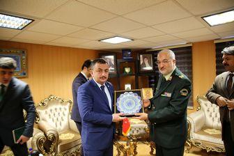 روسای پلیس مبارزه با مواد مخدر ایران و ترکیه دیدار کردند