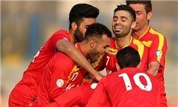 پیروزی فولاد خوزستان مقابل ملوان