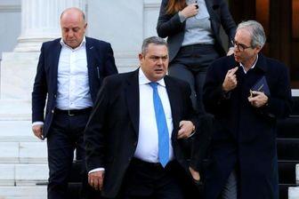 وزیر دفاع یونان به دلیل تغییر نام مقدونیه استعفا کرد