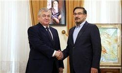دیدار نماینده ویژه پوتین در امور سوریه با علی شمخانی