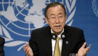 بان کی مون: جهان منتظر پایان جنگ در سوریه است
