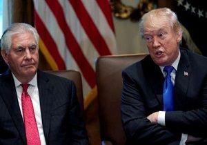 اختلاف نظر ترامپ و تیلرسون درباره کره شمالی