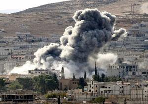حمله خمپارهای به فرمانداری شهر آقچه قلعه ترکیه