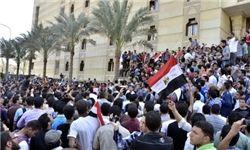 درگیری نیروهای امنیتی مصر با دانشجویان