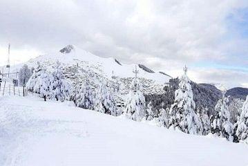 برف پاییزی در روستاهای کوهستانی تالش/ گزارش تصویری