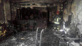 آتش سوزی در مشهد 22 قربانی گرفت