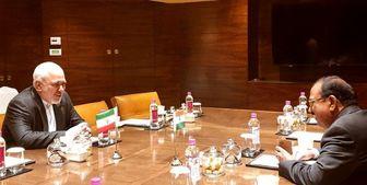 دیدار خصوصی مشاور امنیت ملی هند با ظریف