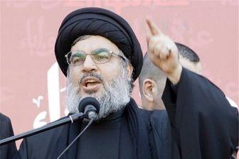 تاکید دبیرکل حزب الله بر انتفاضه
