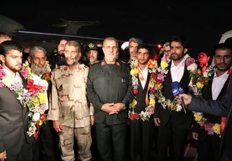 آزادی 5 تن از مرزبانان ربوده شده+عکس
